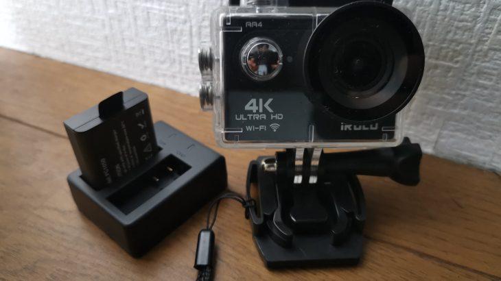 Amzonの中華製4Kアクションカメラを使ってみた!口コミ・レビュー